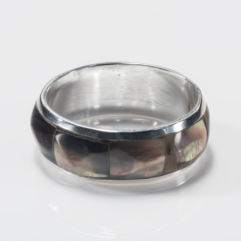 Semping Shell Band Ring