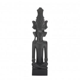 Small Adu Siraha Duduk Makan Statue